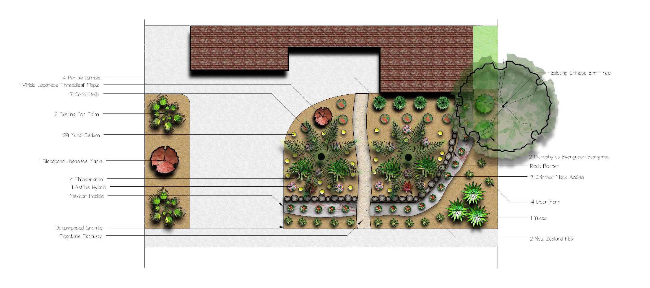 Sacramento Landscape Design Installation Tree Services